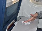 Verfrissingsdoekjes Zilver Aluminium (desinfecterend) _